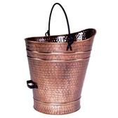 Large Copper Pellet Bucket