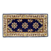 Small Blue Oriental Rectangular Rug
