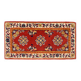 Large Burgundy Oriental Rectangular Rug