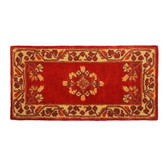 Vermillion Jardin Rectangular Rug