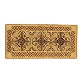 Cocoa Art Deco Classic Rectangular Rug