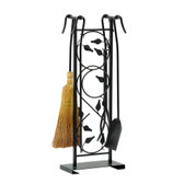 """Leaves Fireplace Tool Set 31""""H"""