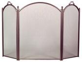 "3 Fold Arch Bronze Screen 34""H x 52""W"