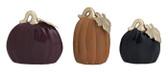 Slim Autumn Elegance Pumpkin Set of 3