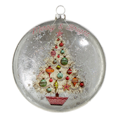 "5"" Merry and Bright Ornament"
