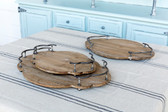 Wooden Bistro Trays - Large