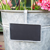 Flower Bucket Blackboard