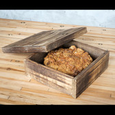 Reclaimed Wood Storage Box Small