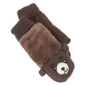 Brown Bear Critter Mitten