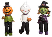 Spooky Kid Shelf Sitters 3 Asst