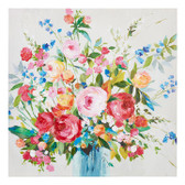 "27.5"" Floral Vase Wall Art"