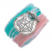 Fabric Wrap with Starfish