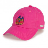 Feline Garden Embroidered Cap