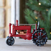 Cast Iron Red Tractor