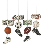 Sport Score Dangle Ornament