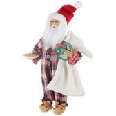 "17.5"" Santa with Cookies"
