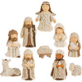 "2.5"" Nativity Set of 10"