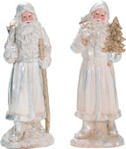 Elegant Santa Figurine