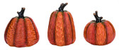 Resin Wood Carved Pumpkins