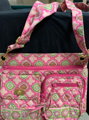 Cross Body Bag Pink Mosaic
