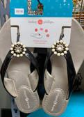 Gwen Black Sandal Size 9
