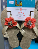 Mary Beth Gold Sandal Size 10