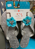 Mary Beth Silver Sandal Size 9