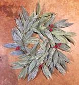 24'' Eucalyptus Berry Wreath