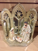 Holy Family Mirrored Creche