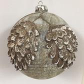 Pine Cone Glass Ornament