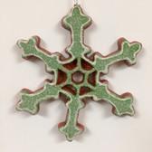 Gingerbread Snowflake Ornament