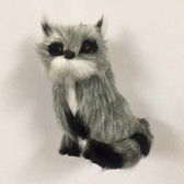 Furry Racoon Ornament