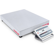 Ohaus D52XW125RQL5, Front Mount Stainless Steel Bench Scale, 250lb x 0.05lb NTEP