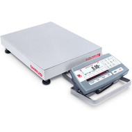 Ohaus D52P12RQR5, Low Profile Front Mount Bench Scale, 25 lb x 0.005 lb, NTEP