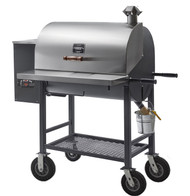 Maverick 850 Wood Pellet Grill w/ upgraded wheels - Pitts & Spitts