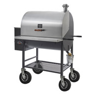 Maverick 2000 Wood Pellet Grill w/ Upgraded Wheels - Pitts and Spitts