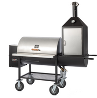 Maverick 1250 Wood Pellet Grill w/ Upright Smokebox - Pitts & Spitts