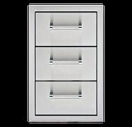 "13"" Delta Heat Triple Storage Drawers DHSD133-B 13″"