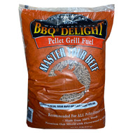 BBQr's Delight 20 lb Pellets - Master Your Beef