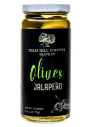 Jalapeno Stuffed Olives 5 oz - Texas Hill Country Olive Co