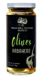 Habanero Stuffed Olives 5 oz - Texas Hill Country Olive Co
