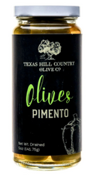 Pimento Stuffed Olives 5 oz - Texas Hill Country Olive Co