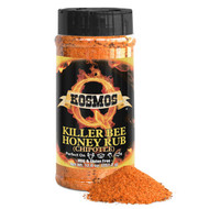 Kosmos Q Killer Bee Chipotle Honey Rub 12.6 oz Shaker