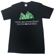 T-Shirt Black - Green Mountain Grills Official Tee Shirt