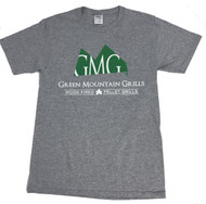 T-Shirt Heather Grey - Green Mountain Grill  Official T-Shirt
