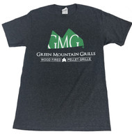 T-Shirt Dark Heather Grey - Green Mountain Grills Official T-Shirt