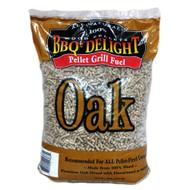 BBQr's Delight 20 lb Pellets - Oak