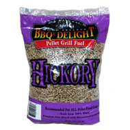 BBQr's Delight 20 lb Pellets - Hickory