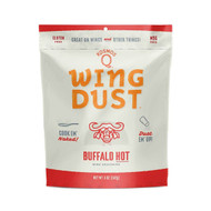 Kosmos Q Wing Dust Buffalo HOT Wing Seasoning 8oz Bag