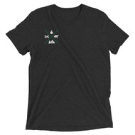 GMG Crosshair Tri-Blend Short Sleeve T-Shirt
